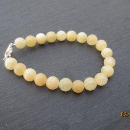 Bracelet en aragonite
